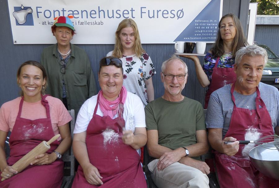 Fontænehuset Furesø klar med 1200 kager til StoreFlyvedag 25. august